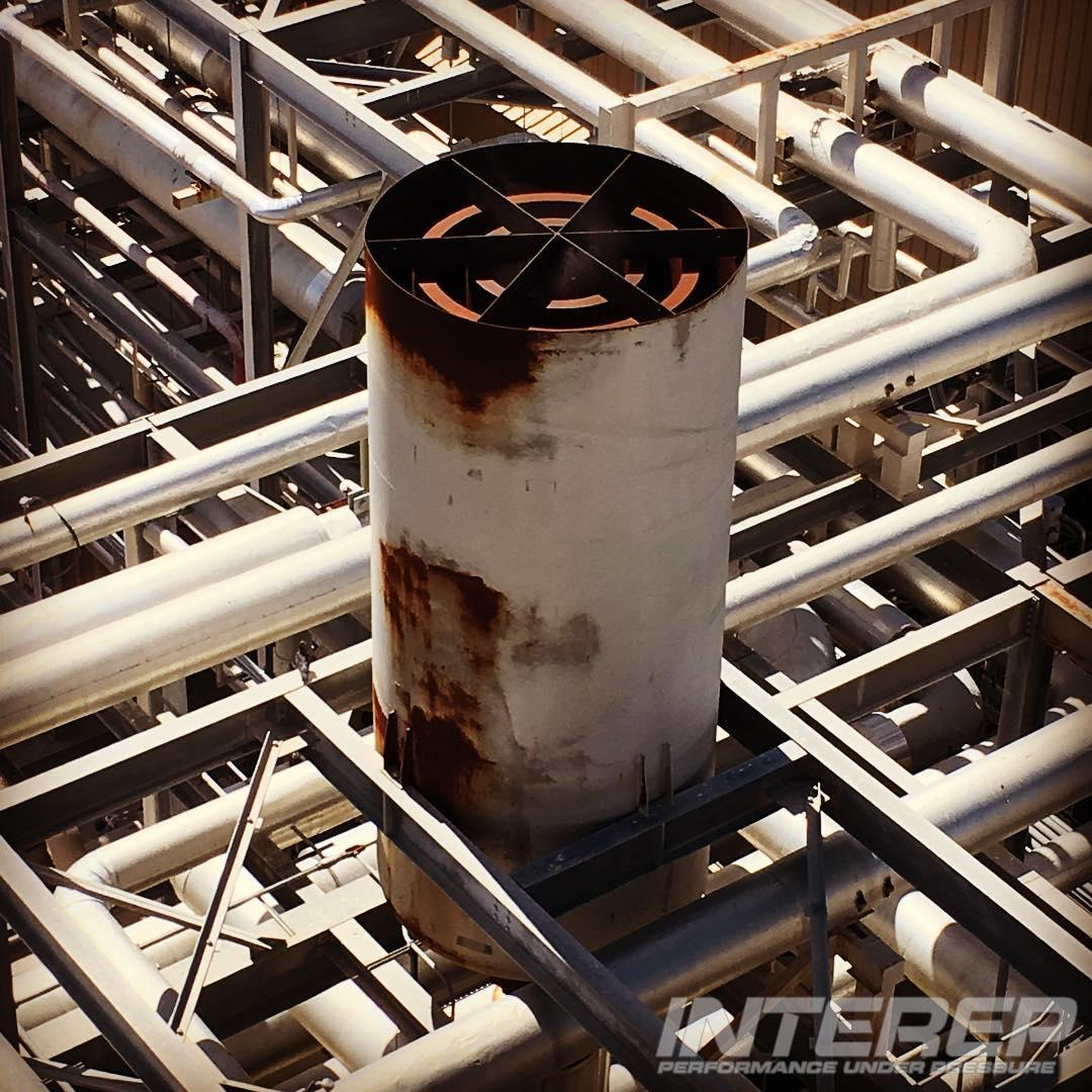 If your vent silencer is causing lots of noise on startup it could have damage from internal corrosion. Interep & SVI Dynamics can inspect, diagnose, re-engineer, and repair it for you.